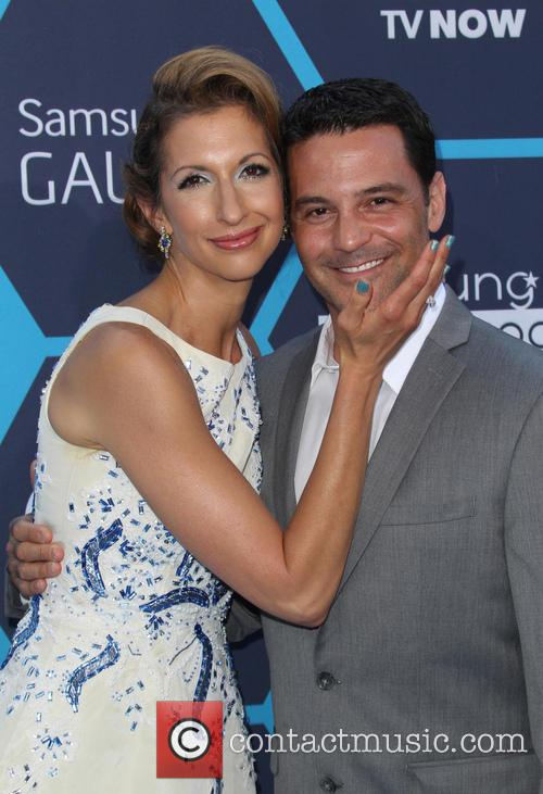 Alysia Reiner and David Alan Basche 8