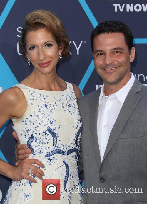 Alysia Reiner and David Alan Basche 10