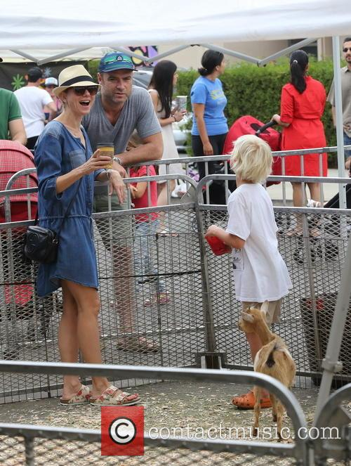 Naomi Watts and Liev Schreiber take their sons...