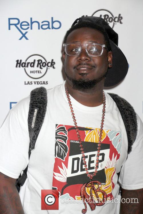 T Pain Performs and DJs at Rehab Pool...