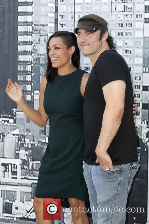Rosario Dawson and Robert Rodriguez 5