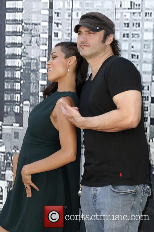 Rosario Dawson and Robert Rodriguez 6