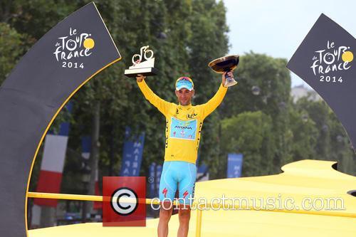 2014 Tour de France final stage and podium...