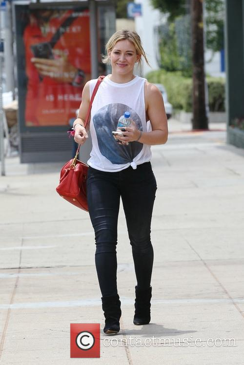 hilary duff hillary duff leaving an appointment 4304796