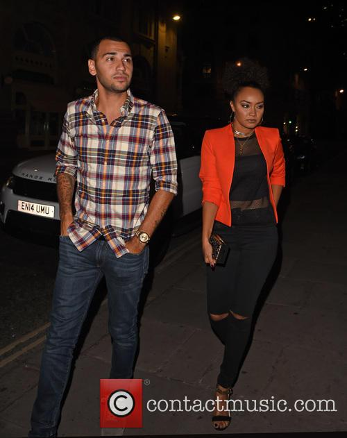 Little Mix, Leigh-anne Pinnock and Jordan Kiffin 9