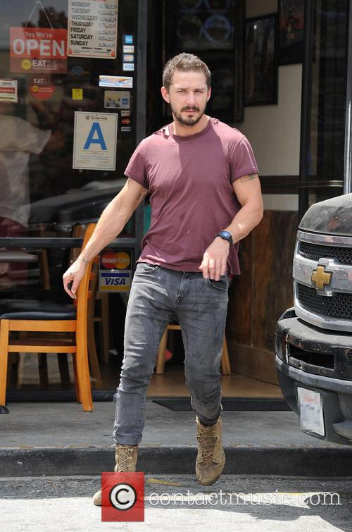 Shia LaBeouf and Mia Goth go out for lunch
