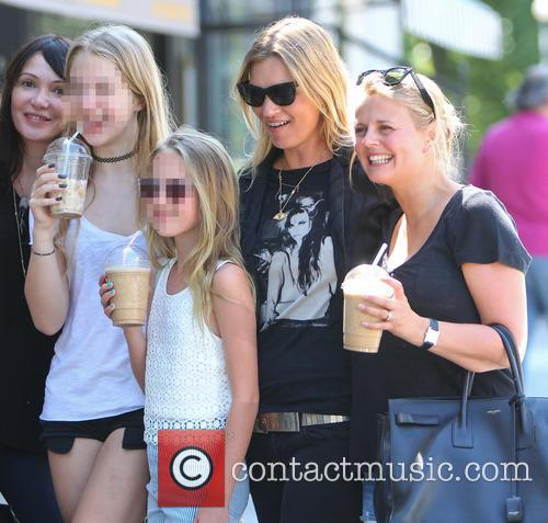 Kate Moss, Lila Grace and Anais Gallagher 2