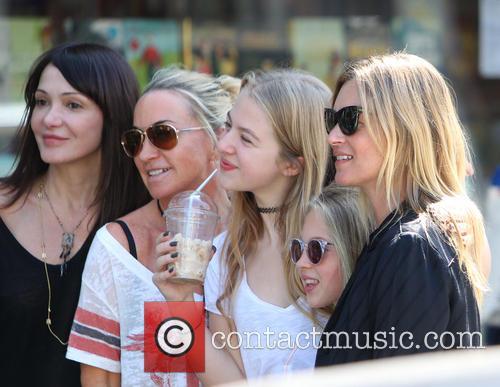 Kate Moss, Lila Grace, Anais Gallagher, Meg Mathews, Primrose Hill