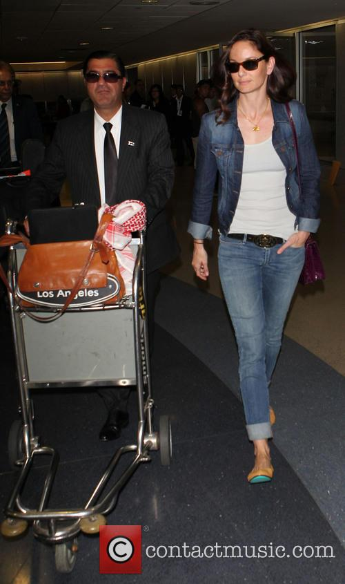 Sarah Wayne Callies at Los Angeles International Airport