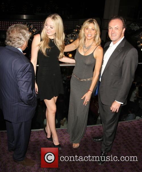 Marla Maples and Tiffany Trump dine at The...