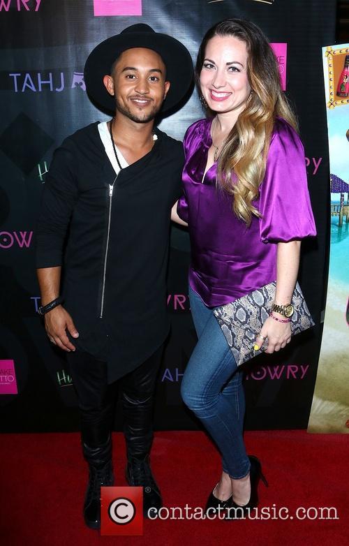 Tahj Mowry and Brandi Garcia 3