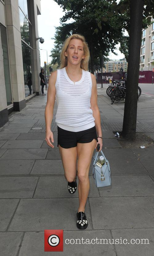 Ellie Goulding leaving her home and heading for...