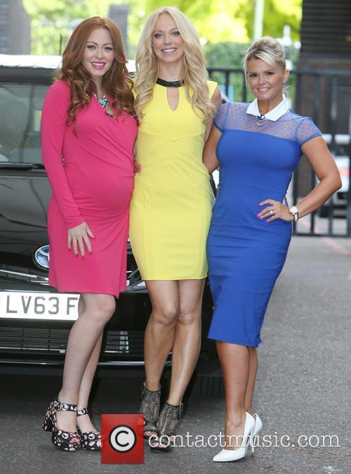 Natasha Hamilton, Liz Mcclarnon and Kerry Katona 2