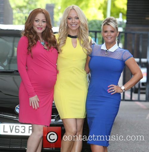 Natasha Hamilton, Liz Mcclarnon and Kerry Katona 3