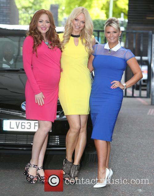 Natasha Hamilton, Liz Mcclarnon and Kerry Katona 4