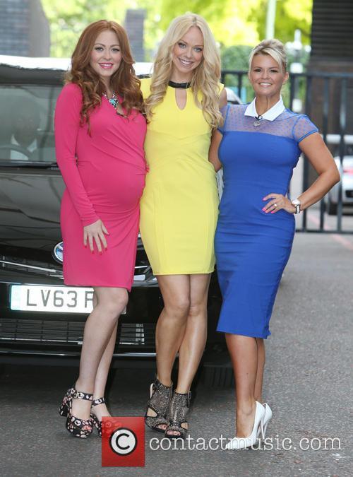 Natasha Hamilton, Liz Mcclarnon and Kerry Katona 5