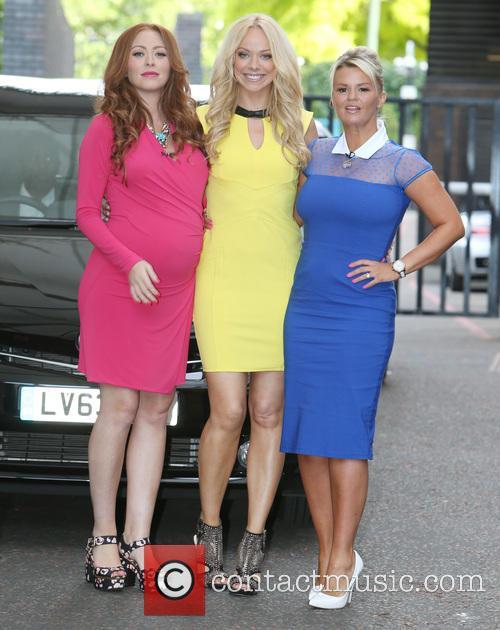 Natasha Hamilton, Liz Mcclarnon and Kerry Katona 6