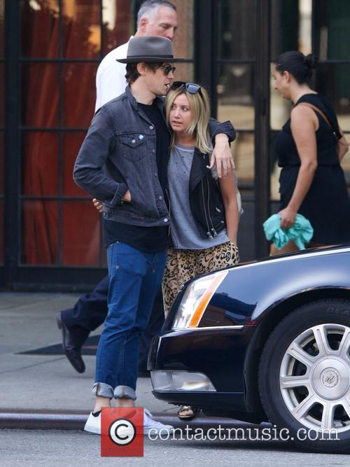 Ashley Tisdale and boyfriend Christopher French