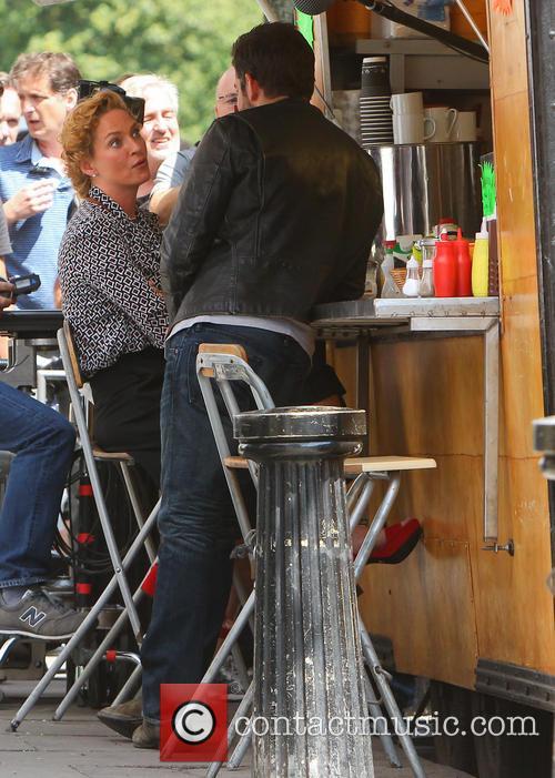Bradley Cooper and Uma Thurman 4