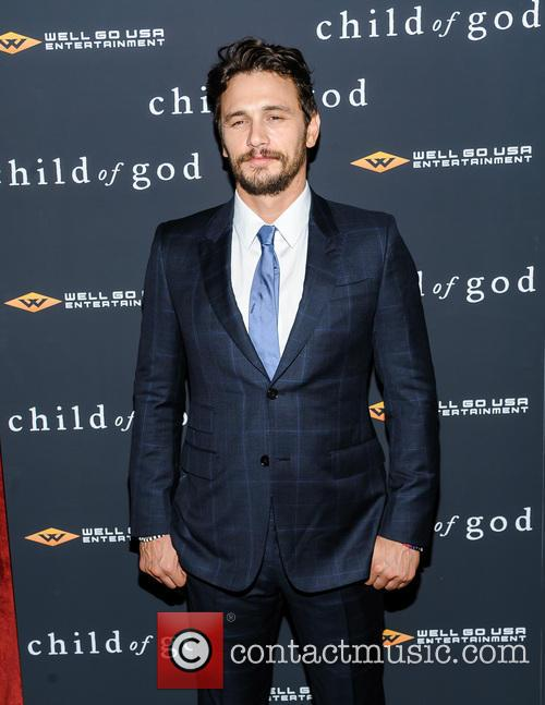 James Franco at the New York screening of 'Child of God'