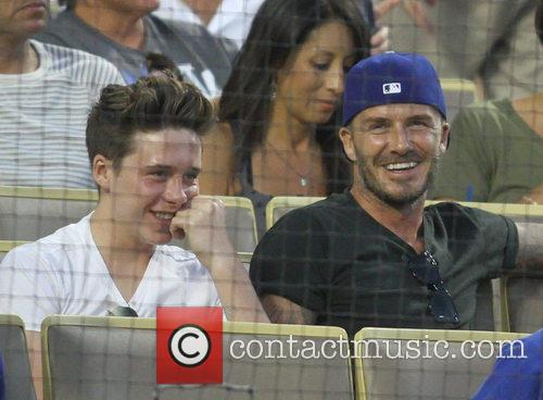 David Beckham and Brooklyn Beckham 6
