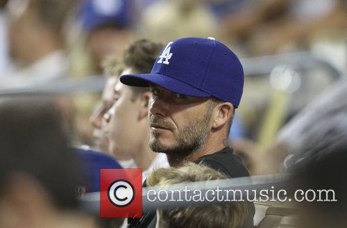 David Beckham, Dodger Stadium