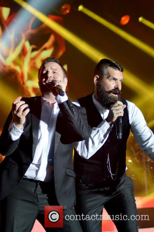 Mikey Graham, Shane Lynch and Boyzone 3