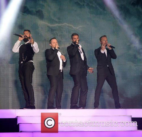 Ronan Keating, Keith Duffy, Mikey Graham, Shane Lynch and Boyzone 3