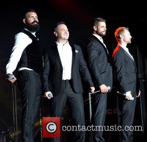 Ronan Keating, Keith Duffy, Mikey Graham, Shane Lynch and Boyzone 6