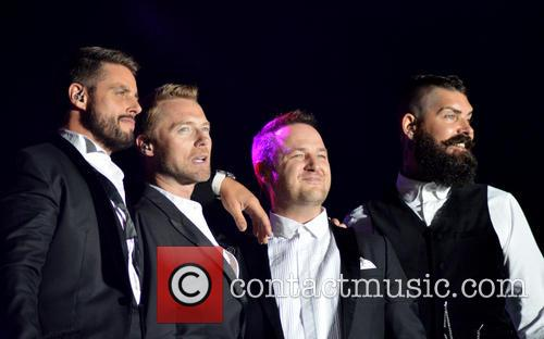 Boyzone performing in 2014