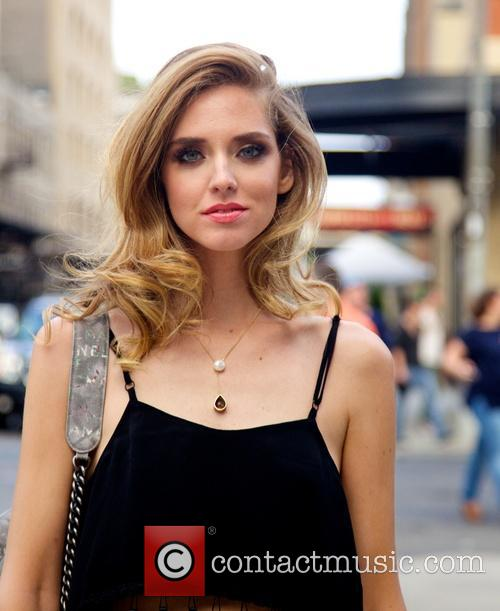 Chiara Ferragni out and about in the Meatpacking...