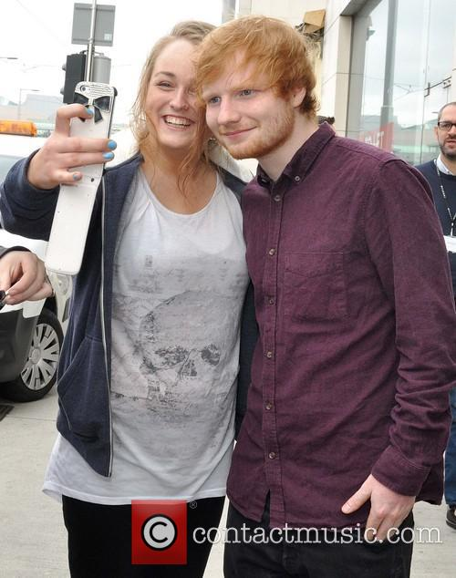 ed sheeran ed sheeran meets fans during 4307847