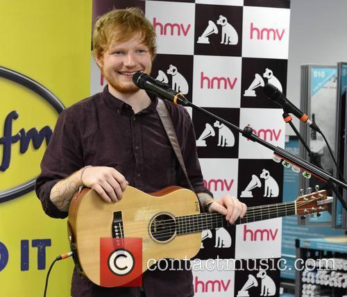 ed sheeran ed sheeran performs at hmv 4308108