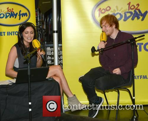 Louise Duffy and Ed Sheeran 2