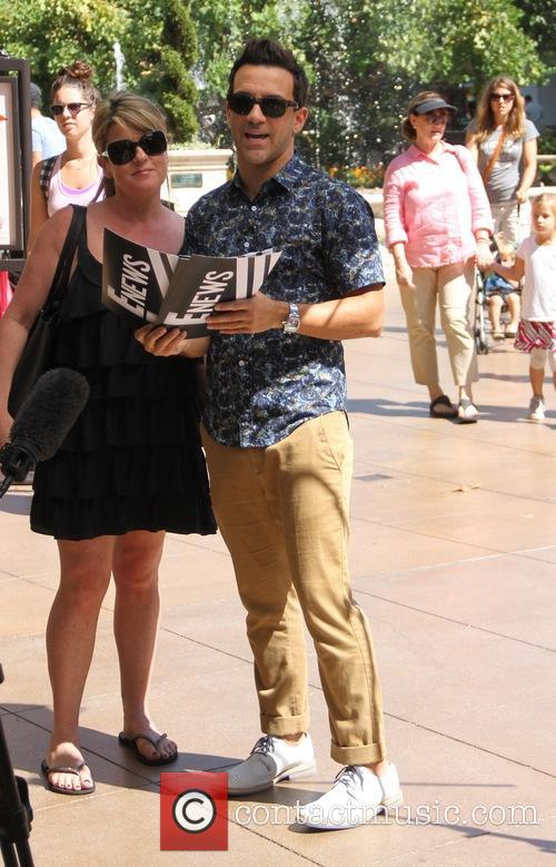 George Kotsiopoulos films at the Grove in Hollywood