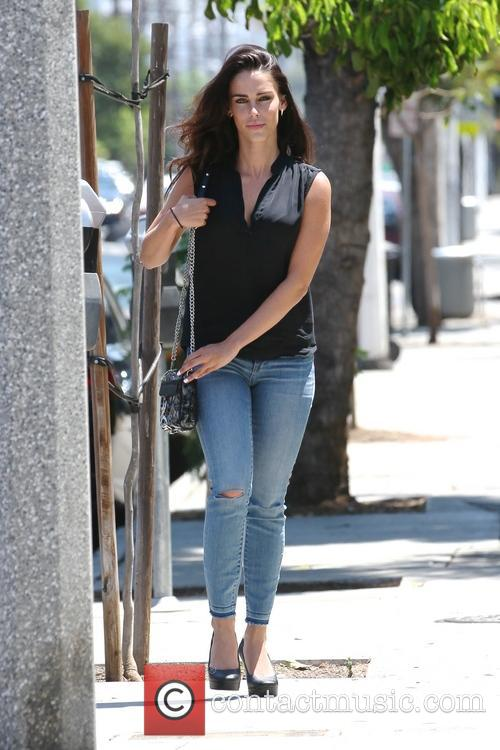 Jessica Lowndes out running errands