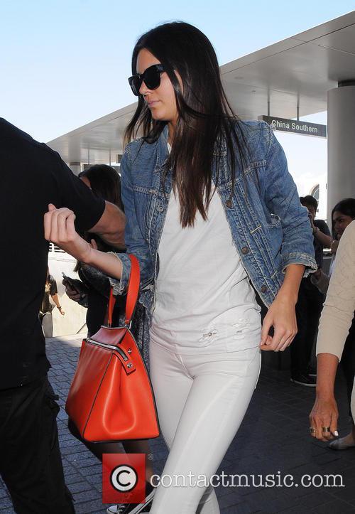 Kendall Jenner, Kris Jenner and Kim Kardashian at...