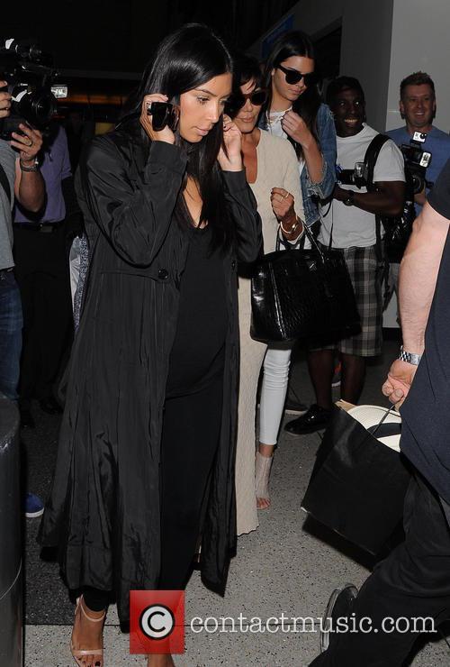 Kim Kardashian, Kris Jenner and Kendall Jenner 2