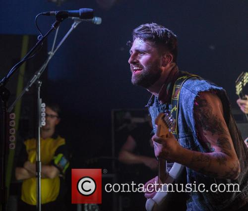 Lower Than Atlantis in concert at Dingwalls