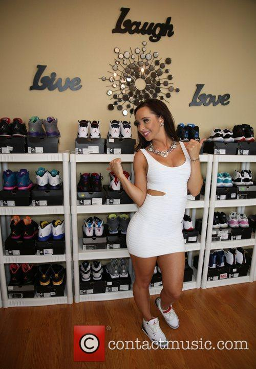 Taisha Marie shows off her sneaker collection for...