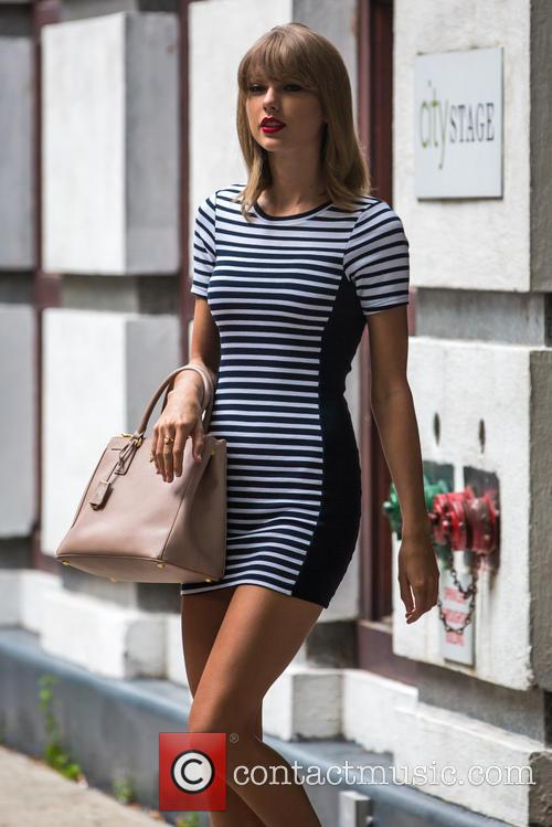 Taylor Swift out and about in New York...