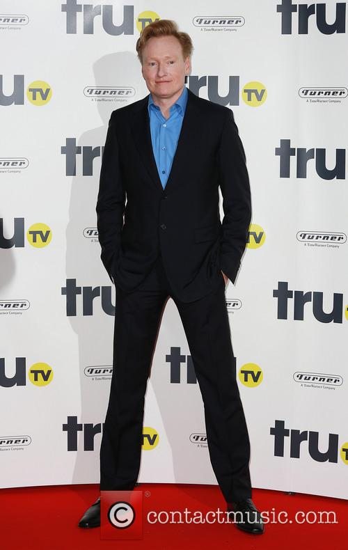 Conan O'Brien at truTV launch party