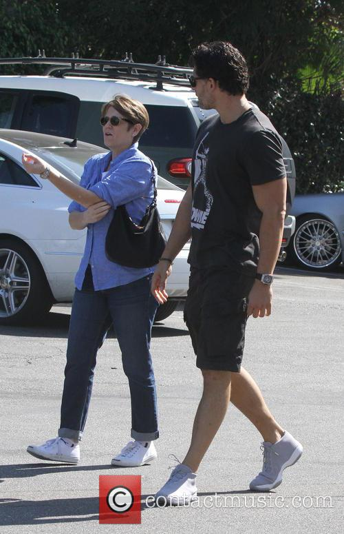 Joe Manganiello spotted out in West Hollywood wearing...