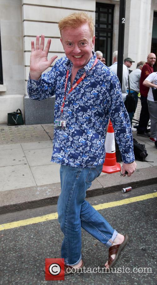 Chris Evans, BBC Radio studios