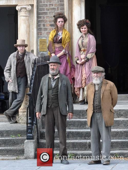 Filming takes place for series 3 of 'Ripper Street'