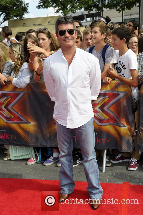 simon cowell x factor london auditions wembley 4309245