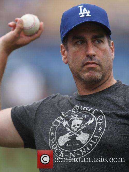 Rob Riggle, Dodger Stadium