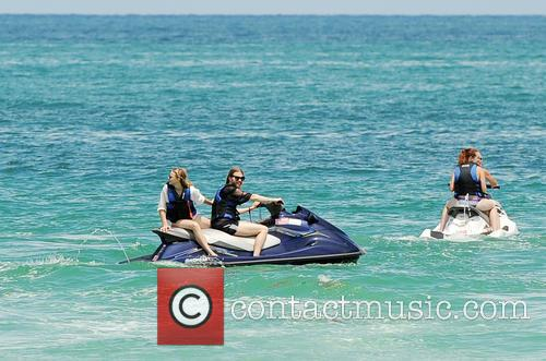 Chloe Grace Moretz spends the day on Miami...