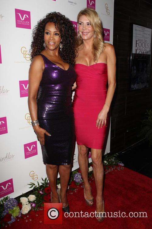 Vivica A. Fox and Brandi Glanville 6