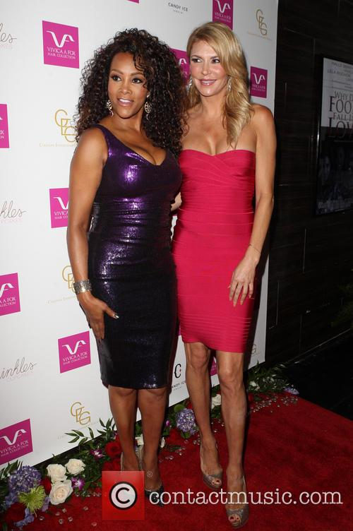 Vivica A. Fox and Brandi Glanville 11